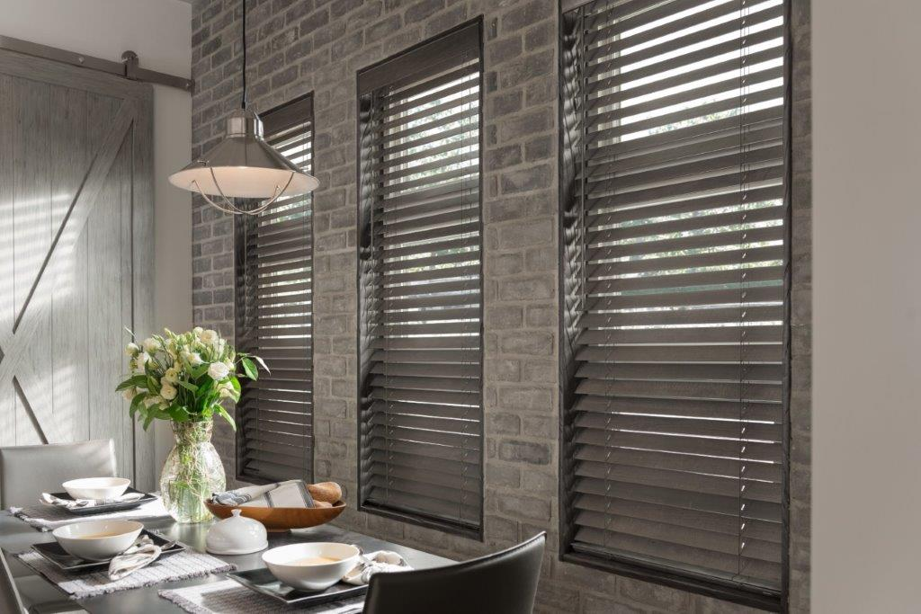 Wood Blinds with Cordless LiftWand Tilt