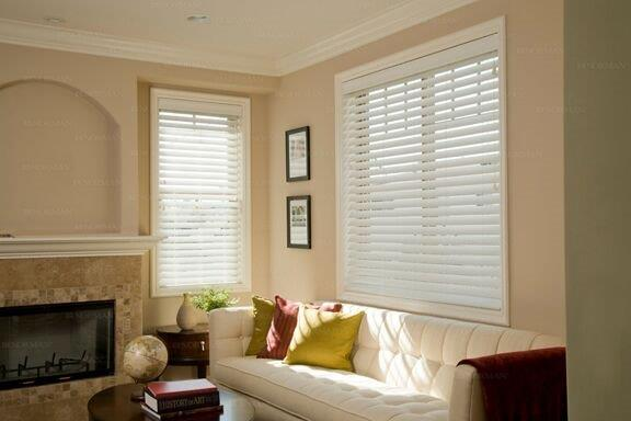 NORMAN FAUX BLIND AND VERTICAL