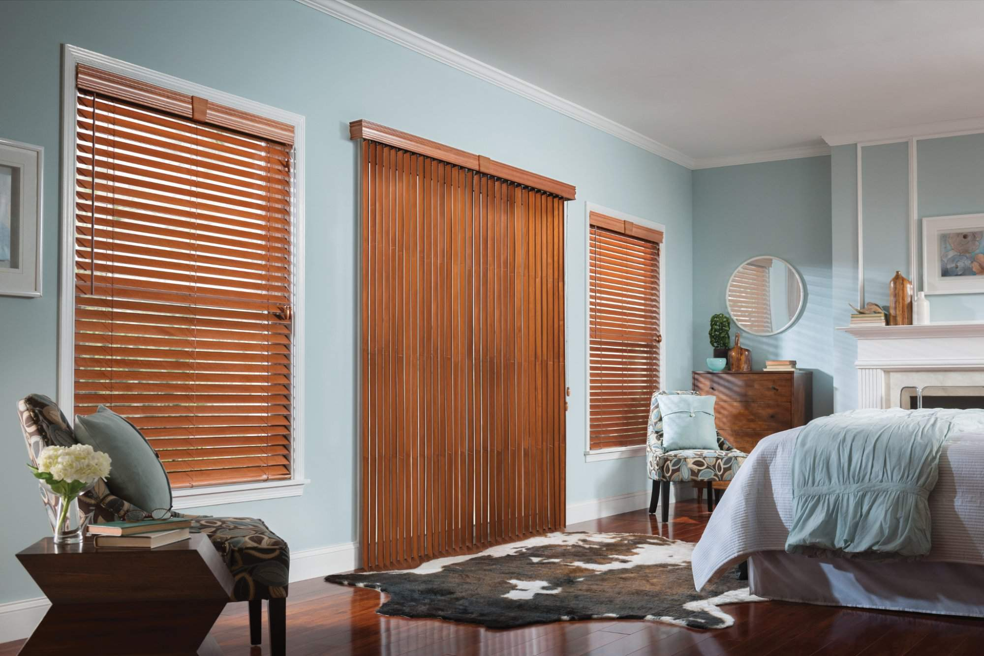 Wood Blinds with Cord LiftWand Tilt
