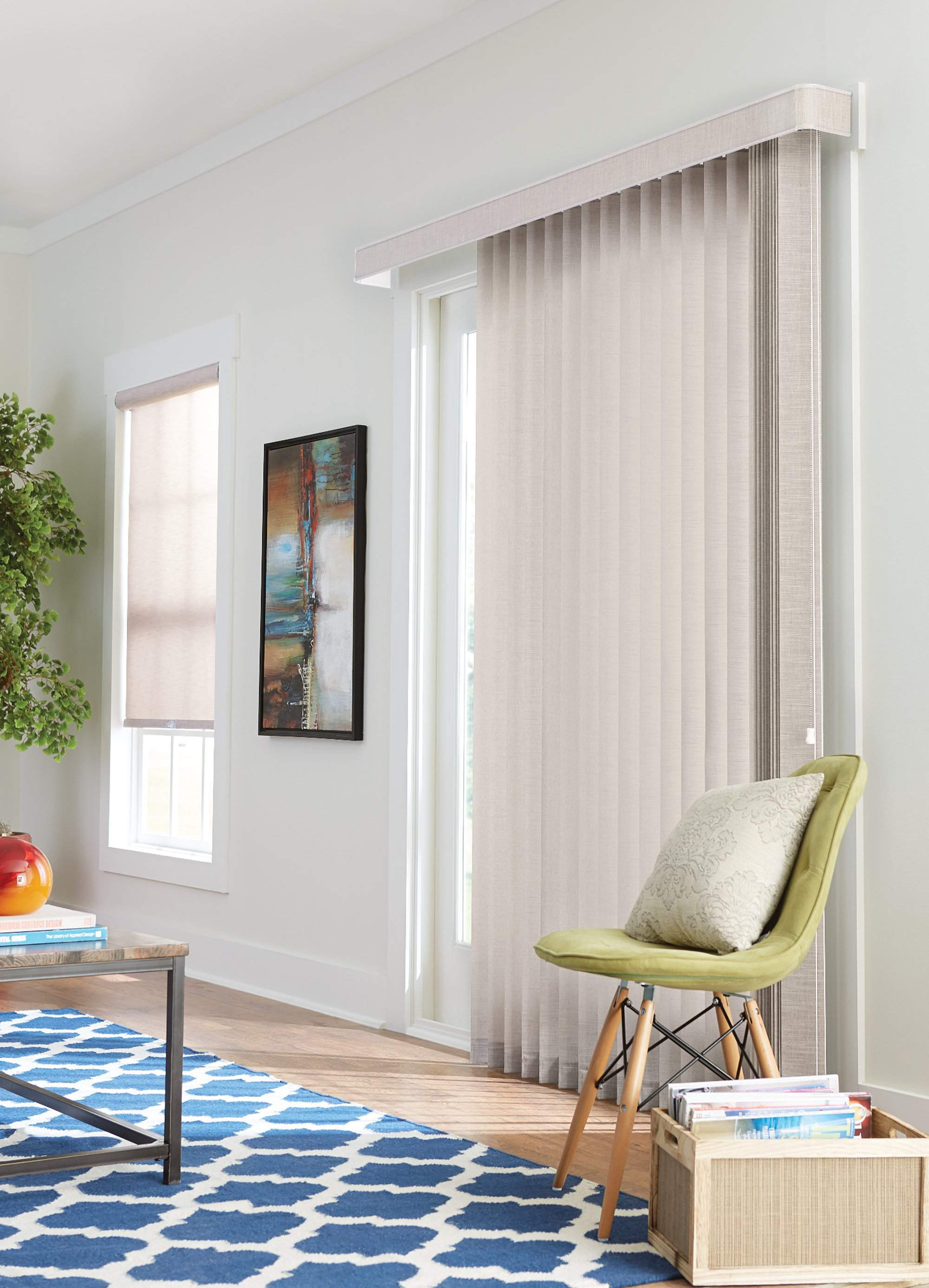 Roller Shade with Cordless Control Harmony